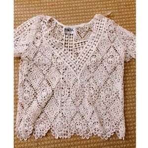 Sabo Skirt white crochet top